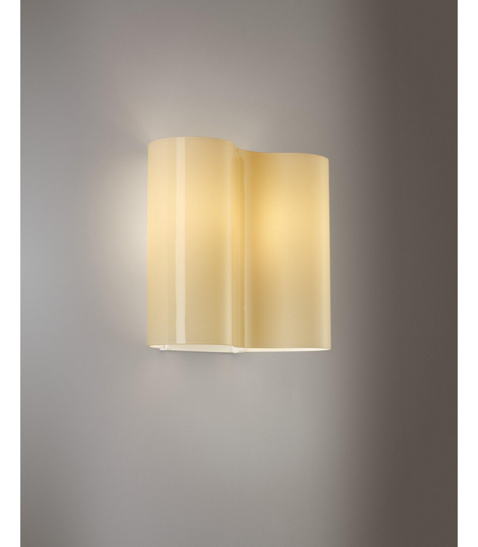 Lampada da parete foscarini double 07 - Lampada da parete design ...