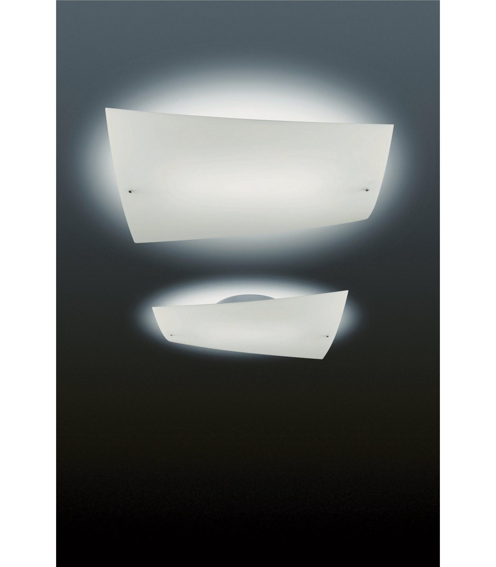 Lampada a soffitto folio foscarini - Lampada bagno soffitto ...