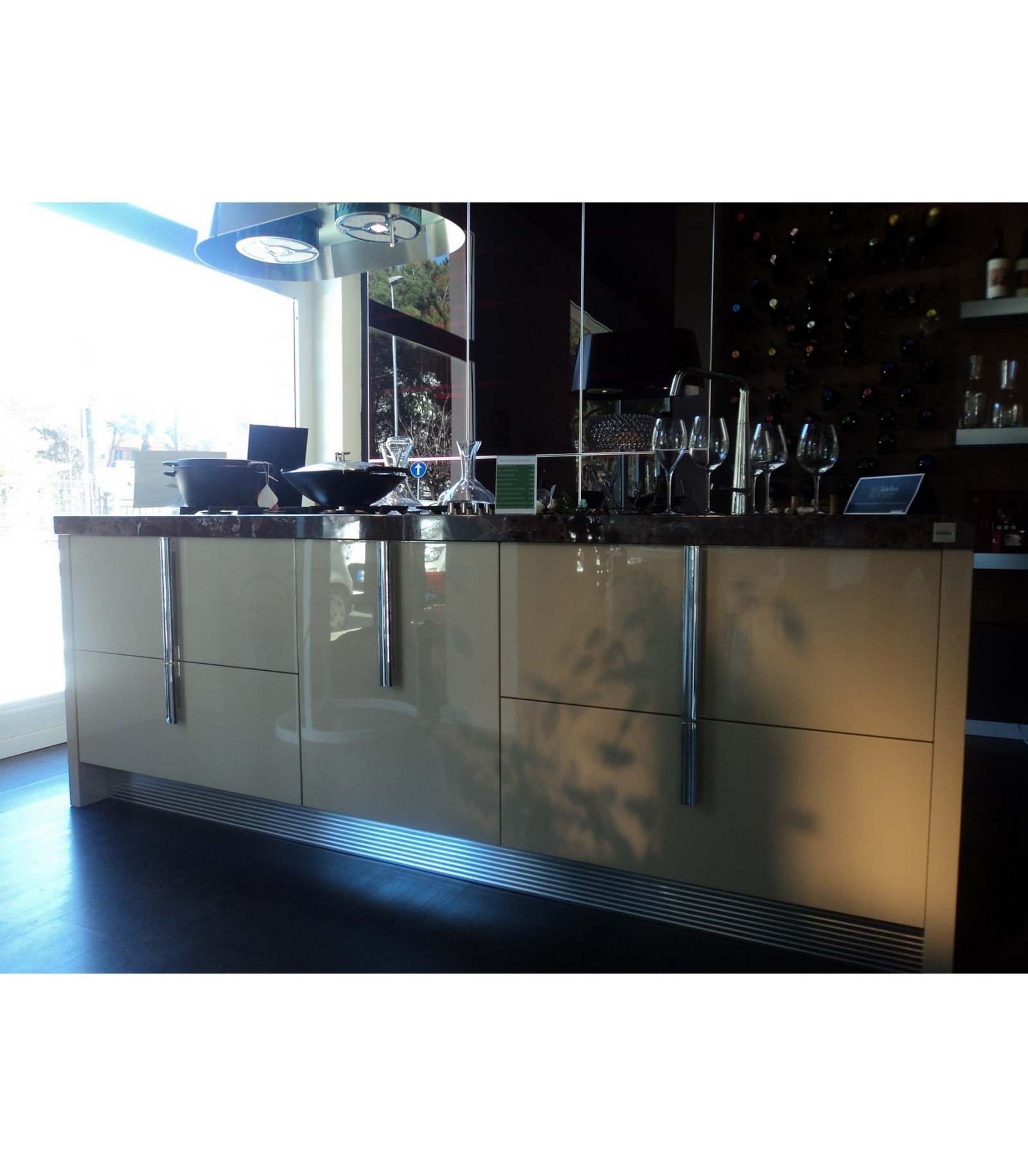 Cucina barrique ernestomeda outlet cucine mariotti casa for Cucine on line outlet