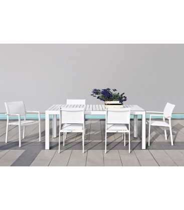 Tavolo kolonaky outdoor for Sedie outdoor design