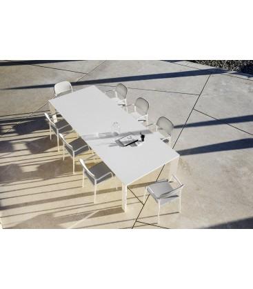 Dolmen tavolo outdoor by Varaschin