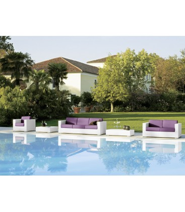 Cora divano outdoor by Varaschin