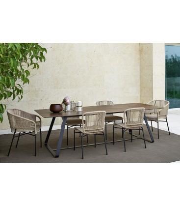 Kolonaky tavolo outdoor by Varaschin
