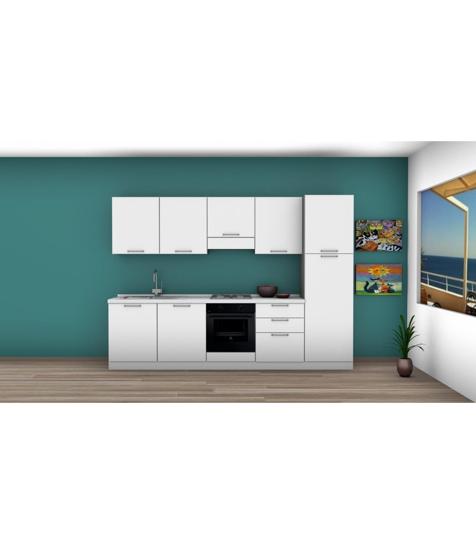 Cucina 07 lunghezza 300 cm mariotti casa - Lunghezza cucina ...