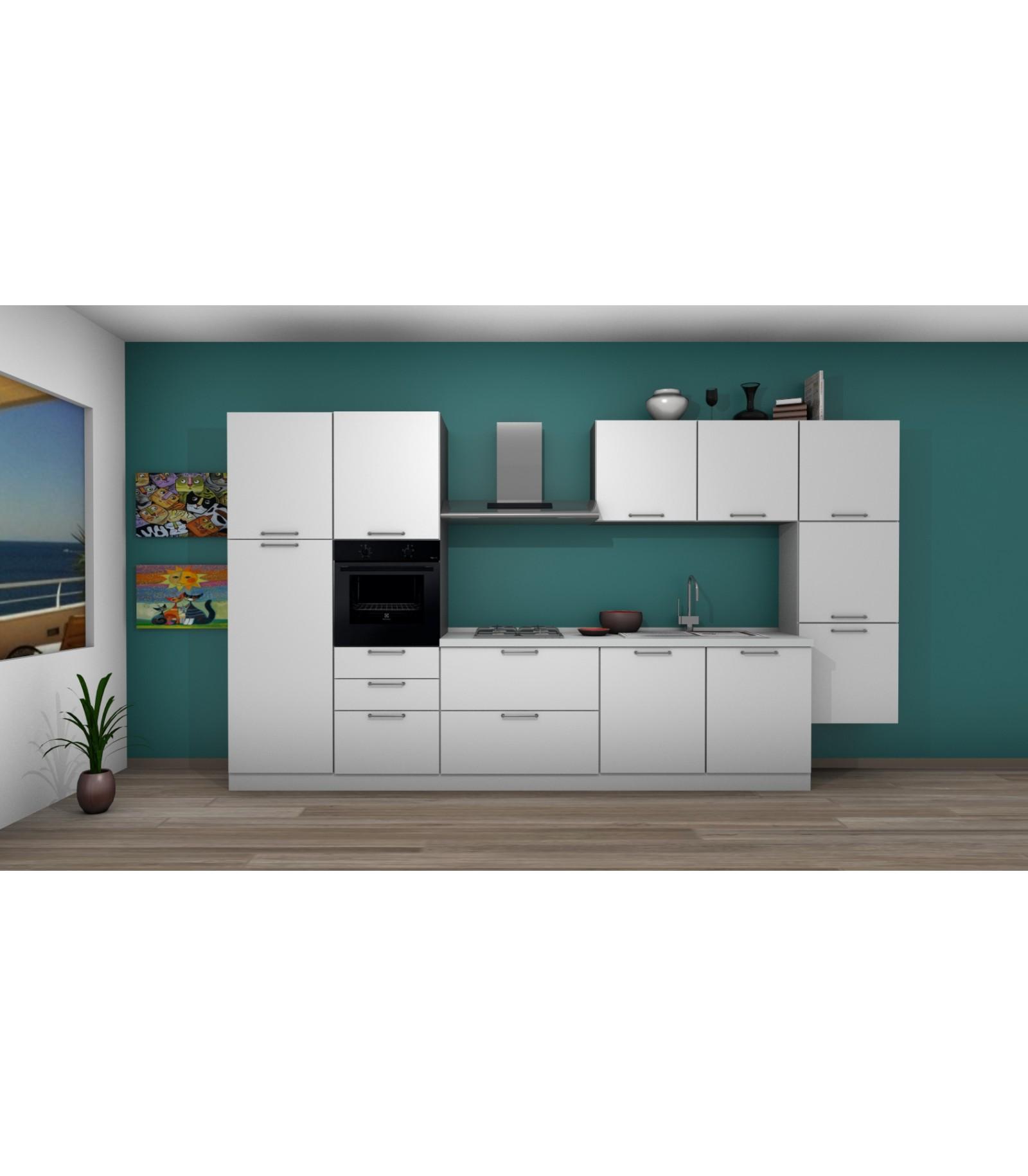 Cucina 06 lunghezza 390 cm mariotti casa - Lunghezza cucina ...