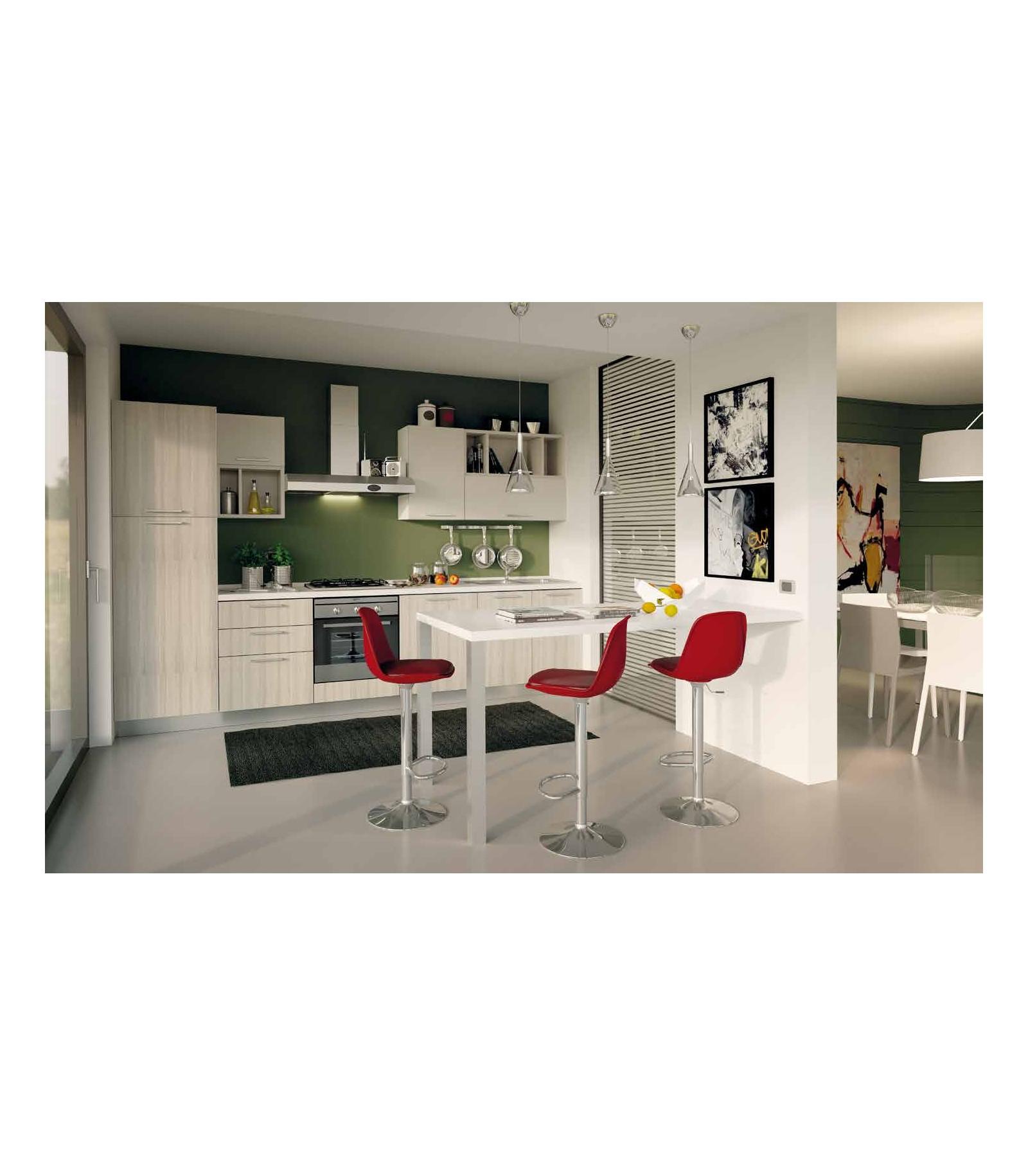 Cucina 01 lunghezza 330 cm mariotti casa - Lunghezza cucina ...