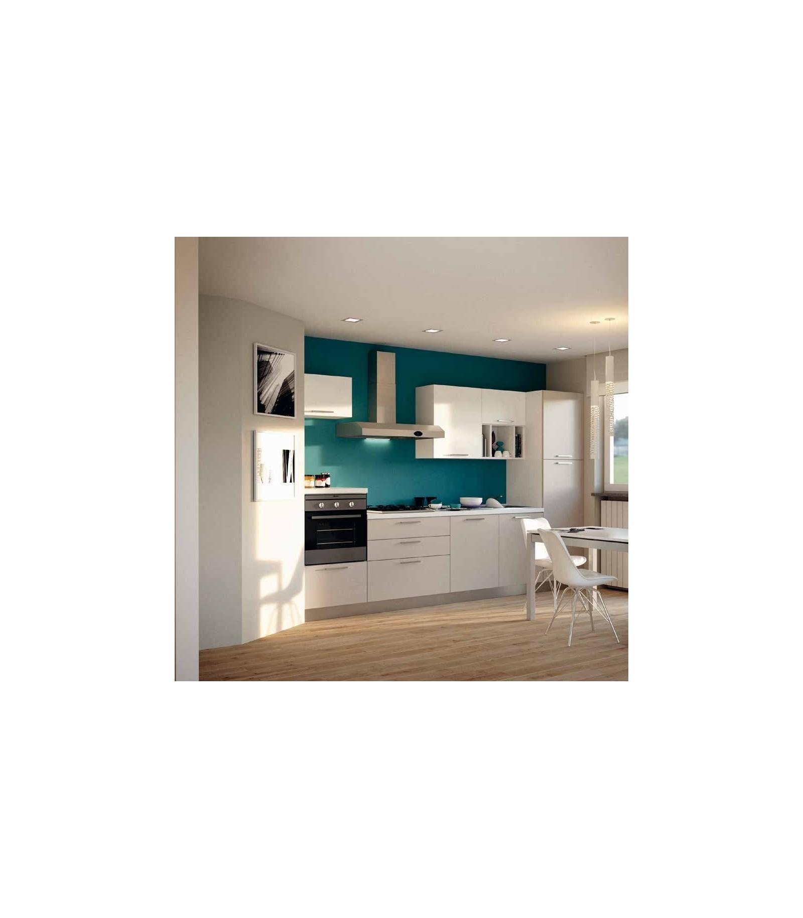 Cucina 03 lunghezza 330 cm mariotti casa - Lunghezza cucina ...