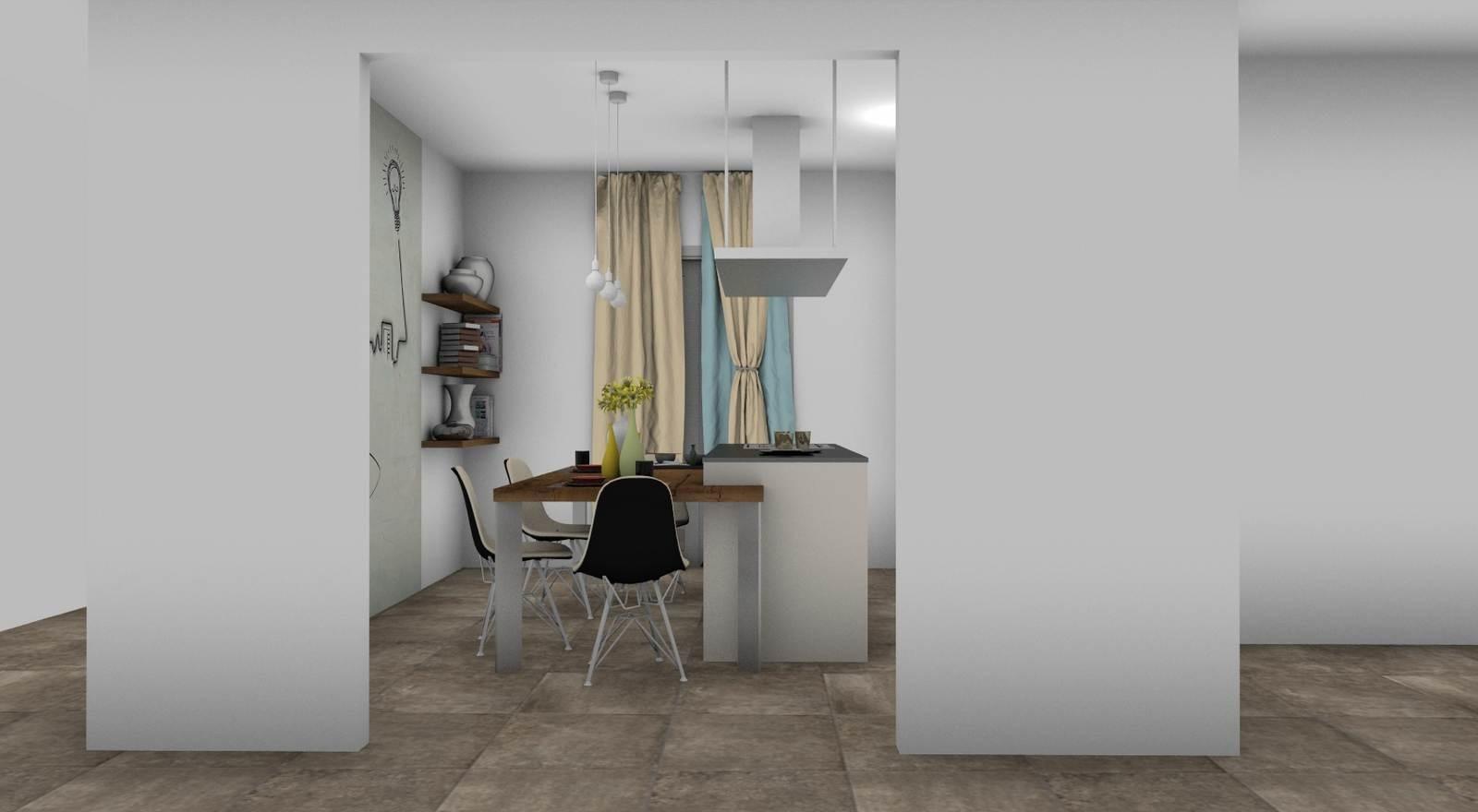 cucina Sistematica rendering 1