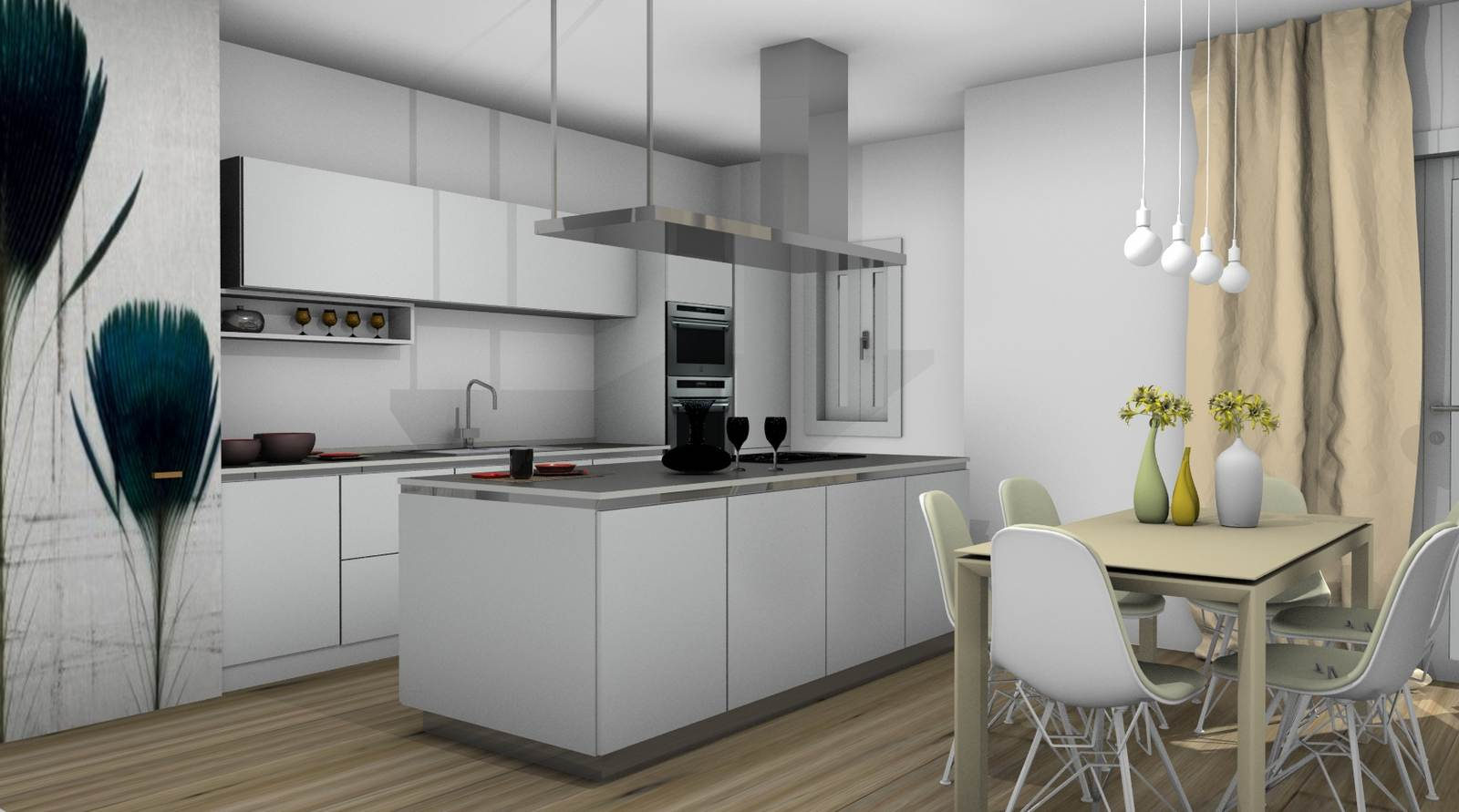 cucina One Ernestomeda rendering 4