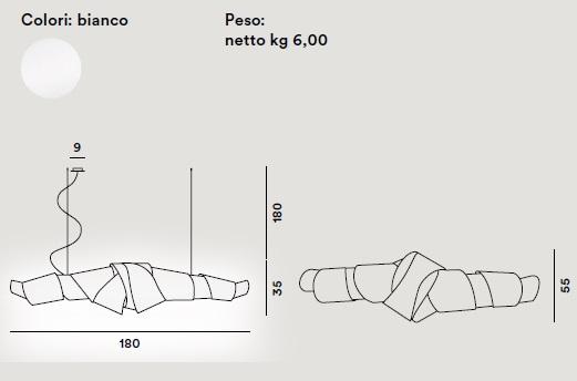 jamaica foscarini scheda tecnica