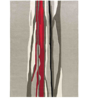Tappeto Red Trace 3088-65 Art Design