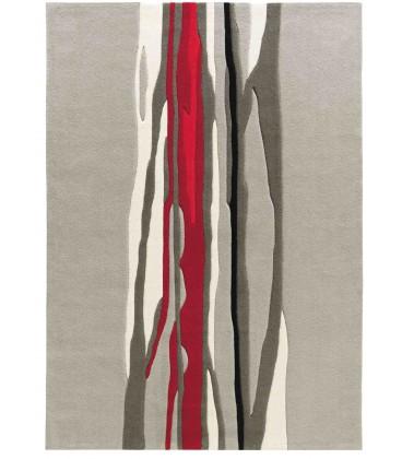 Tappeto Red Trace 3088-65 Art Design