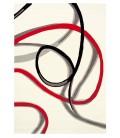 Tappeto Red Trace 3061-11 Art Design