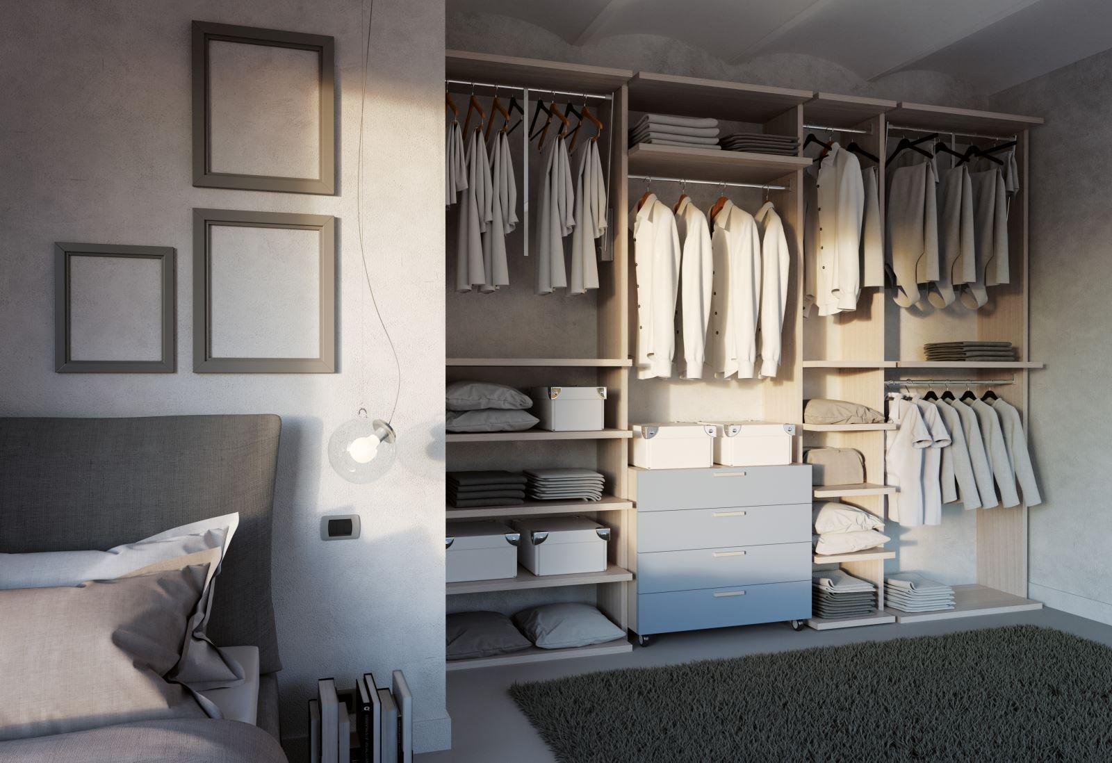 cabina armadio su misura