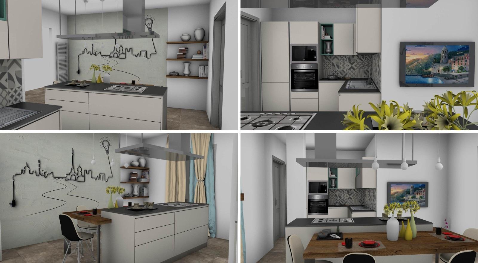 cucina Sistematica rendering 3