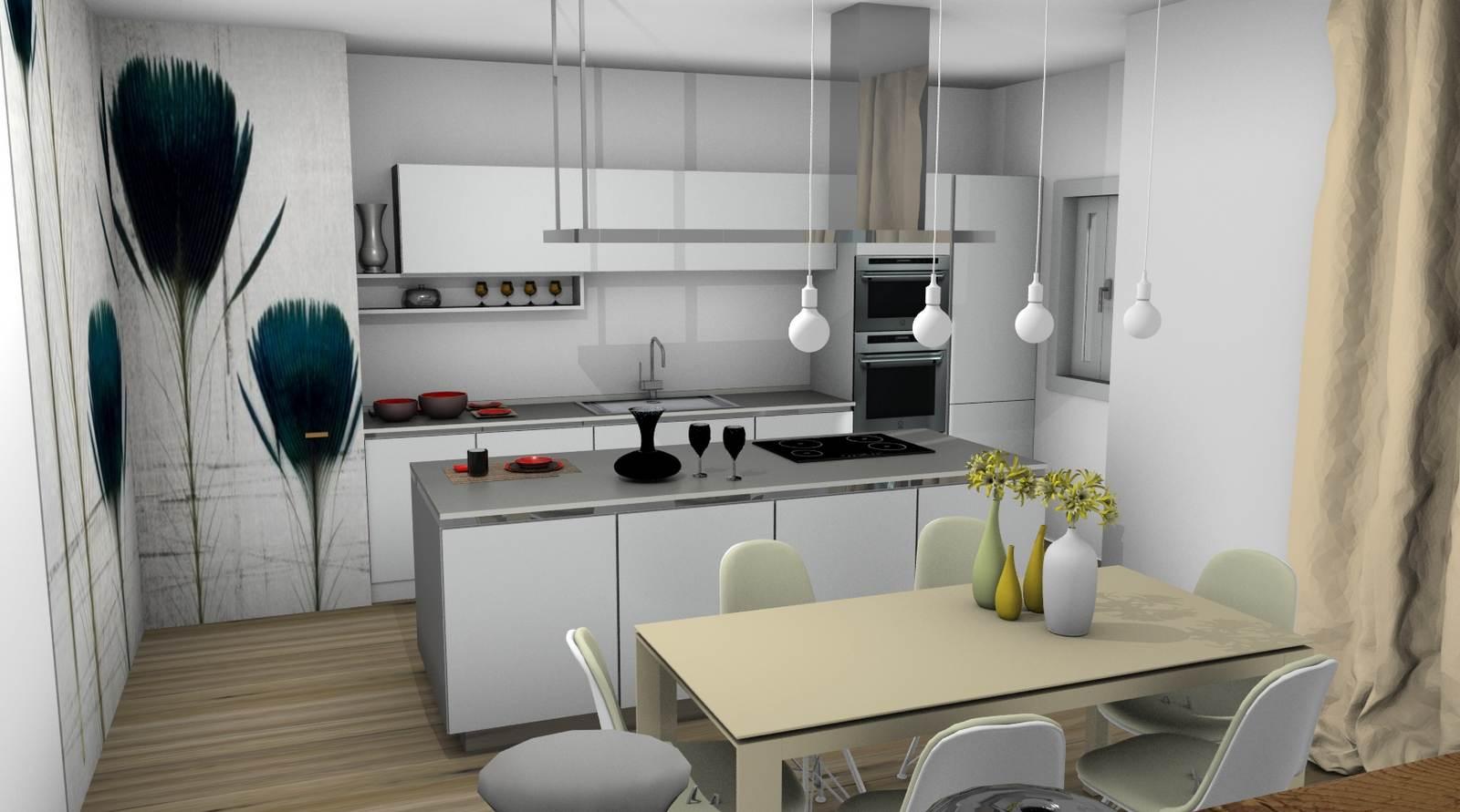 cucina One Ernestomeda rendering 5